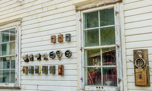 Antique Electrical Boxes