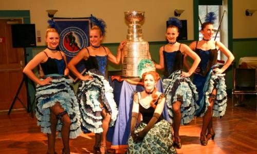 Gertie's Dancers with Stanely Cup 2